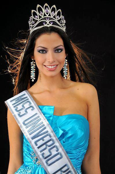 Alexia Viruez Miss Bolivia 2012 photo